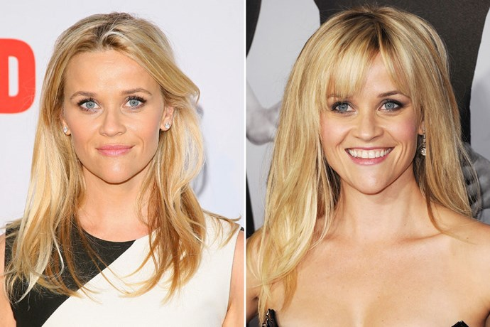 REESE WITHERSPOON In 2015 / In 2012