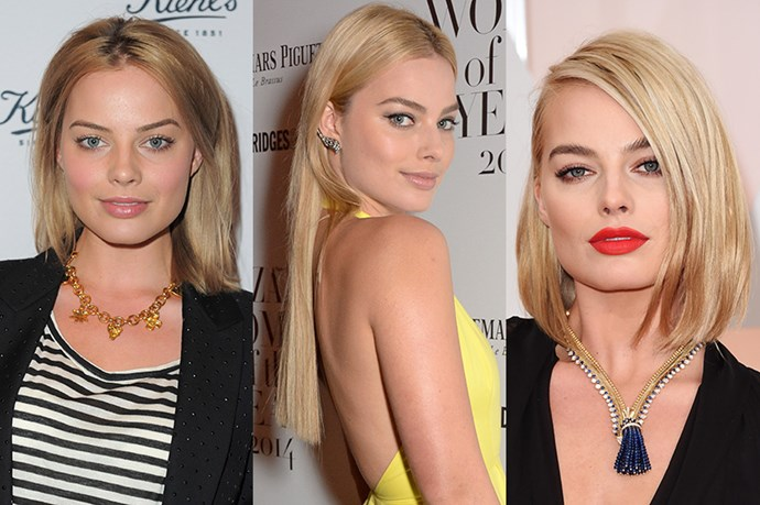 <strong>Margot Robbie </strong> <br> <br> From your favourite girl-next-door (pun intended), to 'best-dressed' staple, Margot Robbie's hair transformation would make Donna proud. While she began with rather lacking long, straightened hair, Robbie aced the red carpet with a long, dramatic blunt do' that prevented her look from becoming boring. Most memorable however was her recent lob switch up which made her look in one word: fierce.