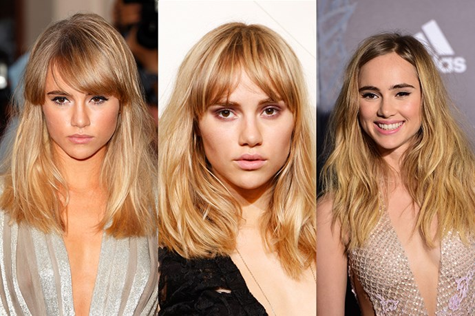 <strong>Suki Waterhouse</strong> <br> <br> Same, same but different is a term that can be applied to Suki Waterhouse's hair preferences. Proving the age old adage of 'if it works, don't fix it', the UK supermodel has always held bohemian tendencies that naturally manifested itself into a perfectly messy, mid-length blunt cut with either a heavy, fringe with a side part in 2013, and a mid-part in 2014. However, we much prefer her layered, blonde locks which we've seen her sport in 2015 which makes her hair look less bulky, while still keeping Waterhouse's relaxed, hippy-chic vibes she's known for championing.