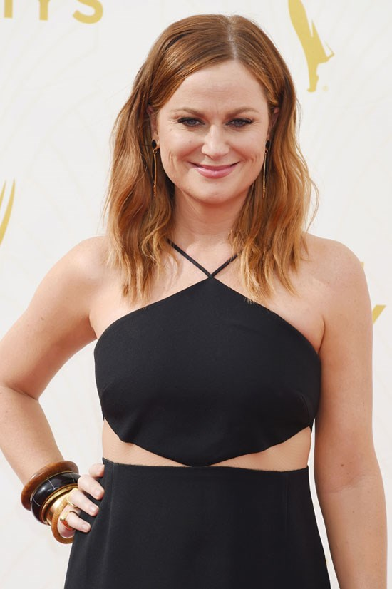 <strong>Amy Poehler:</strong> 'It takes years as a woman to unlearn what you have been taught to be sorry for. It takes years to find your voice and your real estate.'