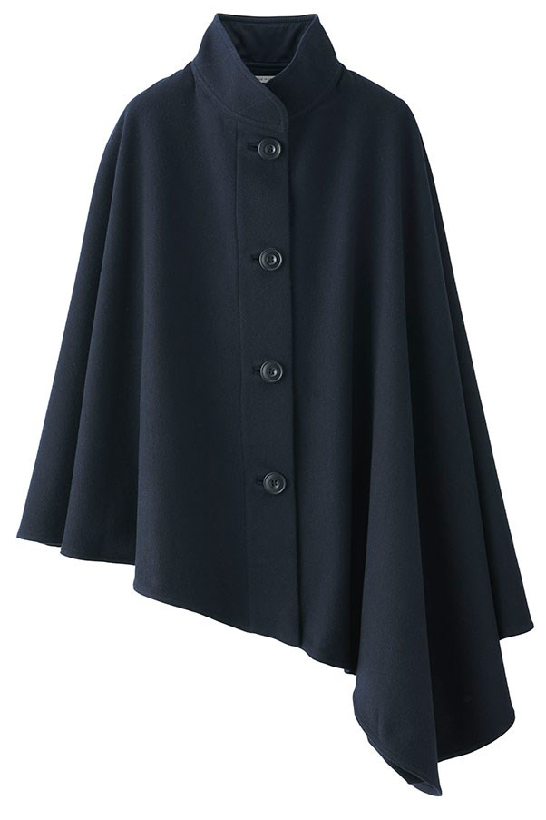 Cape, $149.90, Uniqlo and Lemaire