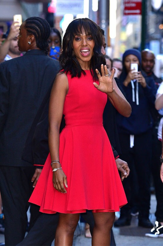 """<strong>KERRY WASHINGTON</strong> <BR> <BR> """"The term feminist is so inclusive now. There isn't one way to be a feminist or to practice feminism, to exercise feminism. You can be feminist in lots of different ways because the point is freedom of choice. <BR> <BR> I also want to say that I very much identify with the term womanist, but I don't think the two are mutually exclusive. I also identify as a humanist. I don't think that either of those terms are mutually exclusive."""" <BR> <BR> — on <a href=""""http://feministing.com/2012/06/02/the-feministing-five-kerry-washington/"""">Feministing.org</a>, June 2012"""