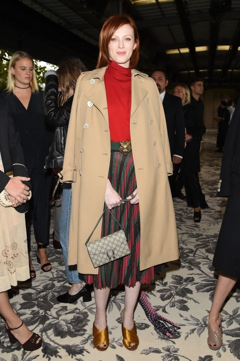 <strong>KAREN ELSON</strong> <BR> At Gucci.