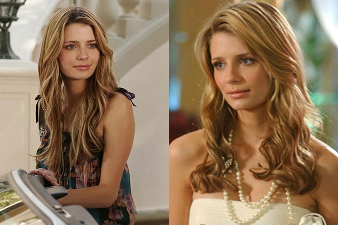 <strong><em>The OC</em></strong> <br> <br> <em>Mischa Barton's Marissa Cooper</em> (<em>RIP #neverforget</em>) was every girl's TV crush in the mid 2000's. <br> <br> Throughout her three seasons of non-stop drama, <em>Coop </em>still managed to keep her dreamy, creamy, caramel beach waves perfectly in place. #hairgoals