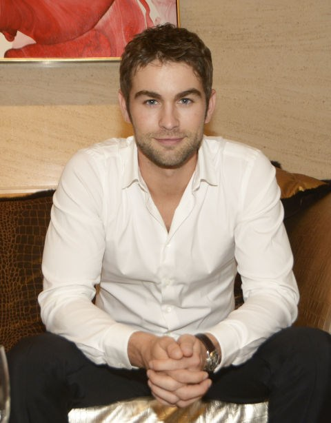 LISTENING Chace Crawford, you sensitive mush of a man, you.