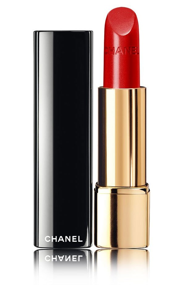 """<em>""""Too long day at the desk? Haven't clocked up enough sleep? Dressed too casually to go out to dinner? A slick of Chanel's classic red <a href=""""http://www.chanel.com/en_AU/fragrance-beauty/makeup/lips/lipsticks/rouge-allure-luminous-intense-lip-colour-p160110.html#page-1"""">Rouge Allure in Coromandel</a> is transformative.""""</em> <BR> <BR> <strong>Natalie Reeves, Chief Sub Editor</strong>"""