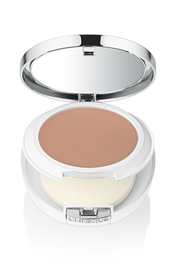 """<em>""""On-the-go touch-ups are made easy with <a href=""""http://www.clinique.com.au/product/1599/37389/Makeup/Foundations/Beyond-Perfecting-Powder-Foundation-and-Concealer"""">Clinique's new Beyond Perfecting Foundation</a>. The compact is sleek, quick to whip out in a taxi and blot T-bar shine in seconds."""" </em> <BR> <BR> <strong> Amanda Spackman, Digital Product Manager</strong>"""
