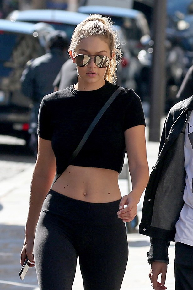 """It's no exaggeration to say that Gigi Hadid is TOTALLY killing it right now.<br> But that doesn't mean she doesn't have her share of body shamers and negativity. <br>She posted an epic pushback on all that on her Instagram this week, noting:<br><br>  """"I'm a hard worker that's confident in myself,"""" she said, """"I represent a body image that wasn't accepted in high-fashion before...Yes, I have abs, I have a butt, I have thighs, but I'm not asking for special treatment. I'm fitting into my sample sizes. Your mean comments don't make me want to change my body.""""<br> Click through for her full statement."""