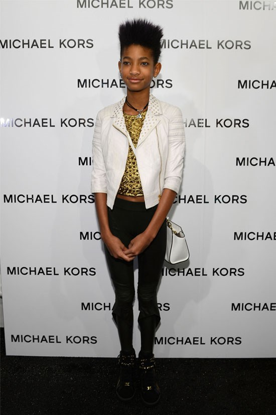 <strong>Mercedes-Benz Fashion Week in New York, 2013</strong> <BR> <BR> Another year older, Willow enters her teen years in style.