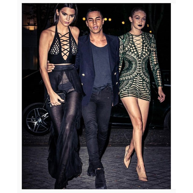 <p>Olivier Rousteing double dating</p> <p>@olivier_rousteing</p>