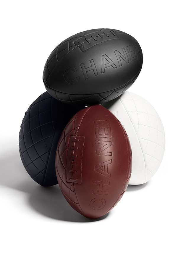 THE CHANEL RUGBY BALL