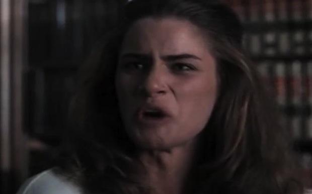 "AMANDA PEET Law & Order, season 6, episode 5: ""Hot Pursuit,"" November 1995. GETTY"