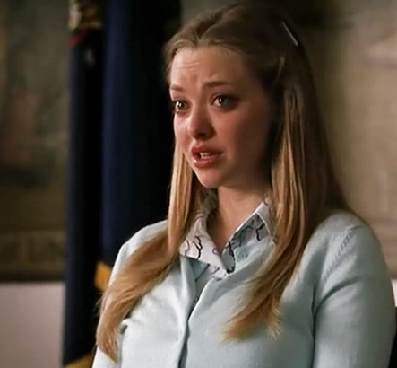 """AMANDA SEYFRIED Law & Order: SVU, season 6, episode 5: """"Outcry,"""" October 2004. GETTY"""