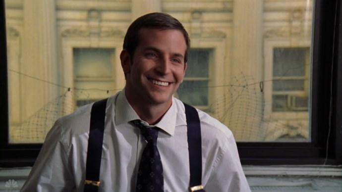 "BRADLEY COOPER Law & Order: SVU, season 6, episode 20: ""Night,"" May 2005. GETTY"