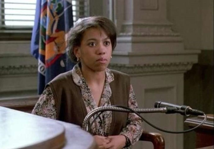 """CHANDRA WILSON Law & Order, season 2, episode 18: """"Cradle to the Grave,"""" March 1992. GETTY"""