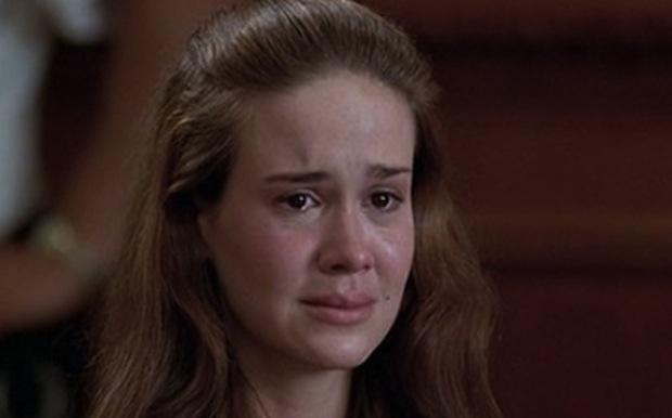 "SARAH PAULSON Law & Order, season 5, episode 4: ""Family Values,"" October 1994. GETTY"