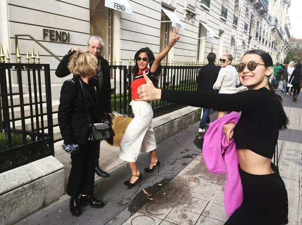 <em><strong>BELLA HADID</strong></em> <P> Thankfully, Bella swapped the foot fetish for fashion parties and fancy frames.