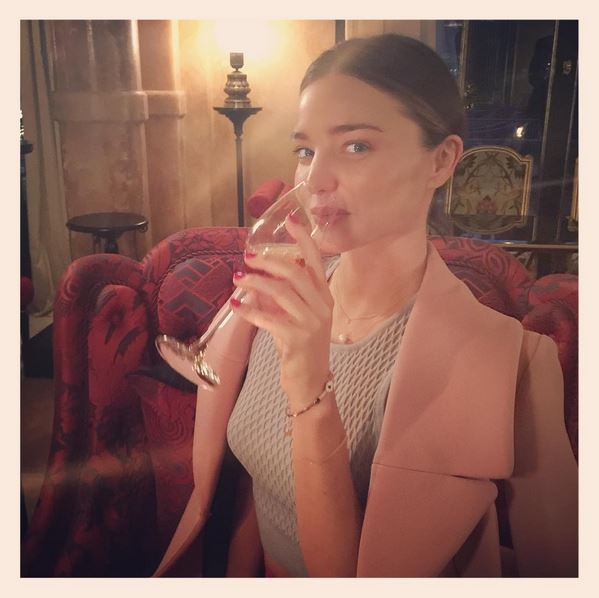 <em><strong>MIRANDA KERR</strong></em> <p> Surprisingly, not too much has changed about Miranda's Insta. You can still see mirror selfies and KORA - and her commitment to polaroid borders.
