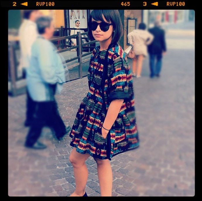 <em><strong>MIROSLAVA DUMA</strong></em> <p> This pint-sized fashionista has one of he most followed 'grams in the fashion world, but even she started out rocking the film border.
