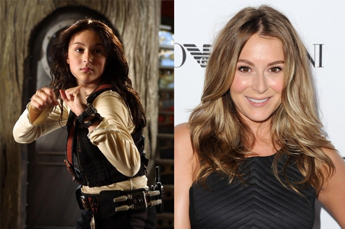<em><strong>ALEXA VEGA</strong></em> <p> <p> Don't lie, When <em>Spy Kids</em> came out, we all wanted to be Carmen and eat microwaved superfoods (seriously, why haven't they invented that yet?).