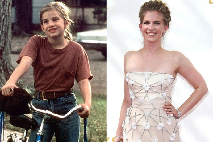 <em><strong>ANNA CHLUMSKY</strong></em> <p> <p> You might recognise her now from <em>Veep</em> or from <em>Hannibal</em>, but little Anna made her fame being the love of little Macaulay Culkin's life in <em>My Girl</em>.