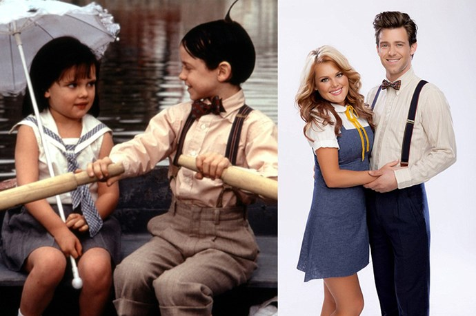 <em><strong>BUG HALL AND BRITTANY ASHLEY HOLMES</strong></em> <p> <p> <em>'Dear Darla, I hate your stinking guts. You make me vomit. You're scuuuum between my toes! Love, Alfalfa'</em>. Bug and Brittany have remained friends since their appearance together in <em>The Little Rascals</em>.