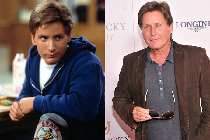 <em><strong>EMILIO ESTEVEZ</strong></em> <p> <p> If you weren't a Judd Nelson fan, you were a Emilio Estevez fan. You might know him from <em>The Breakfast Club</em> or <em>The Mighty Ducks</em>, but you definitely didn't know he was Charlie Sheen's little bro.