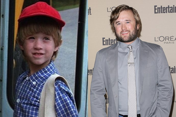 <em><strong>HALEY JOEL OSMENT</strong></em> <p> <p> Like Macaulay Culkin, Haley Joel did the rounds back in the day as the cute little kid in most movies, see: <em>Forrest Gump</em>, <em>The Sixth Sense</em> and <em>Bogus</em>.