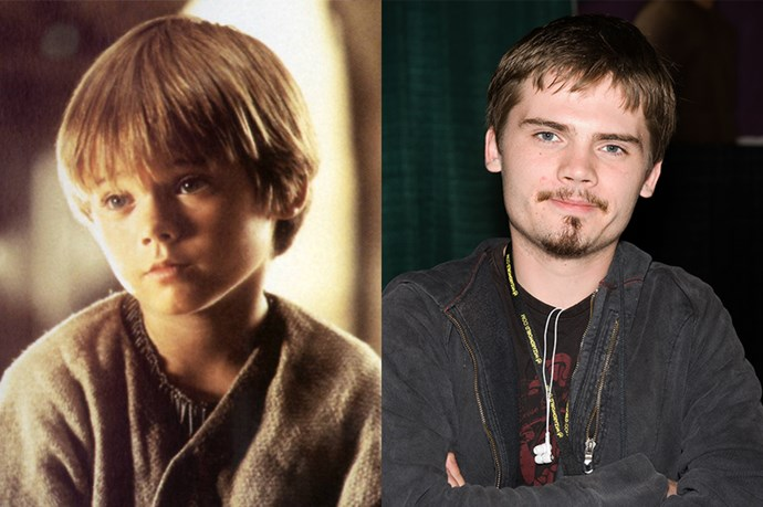 <em><strong>JAKE LLOYD</strong></em> <p> <p> We were pleasantly surprised to find that Jake Lloyd was still around, 16 years after <em>Star Wars: The Phantom Menace</em>, but we were even more surprised to find that he kept that glorious bowl cut.
