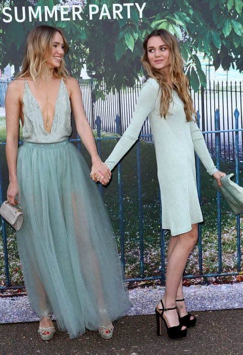 <strong>SUKI WATERHOUSE AND IMMY WATERHOUSE</strong>
