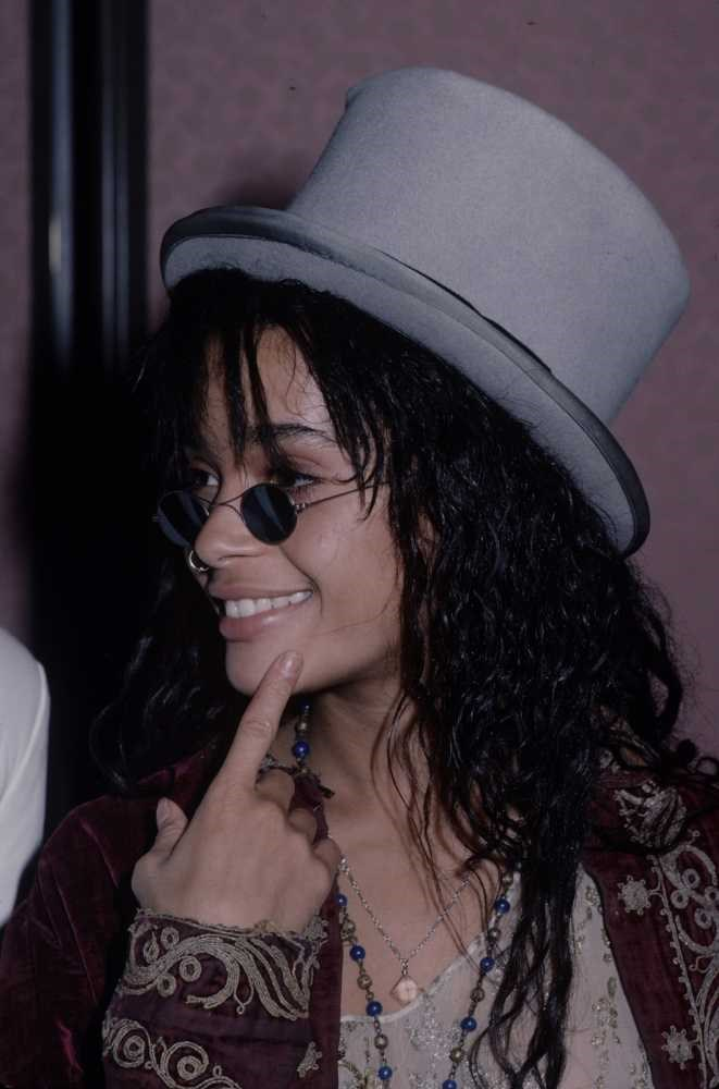 "<strong>Lisa Bonet</strong> <br> <br> ""Effortlessly cool, beautiful and sexy. The hair, the cheekbones, the sass… her daughter Zoe Kravtiz has hit the gene pool jackpot."" <br> <br> Billie Bhatia - Fashion Assistant"