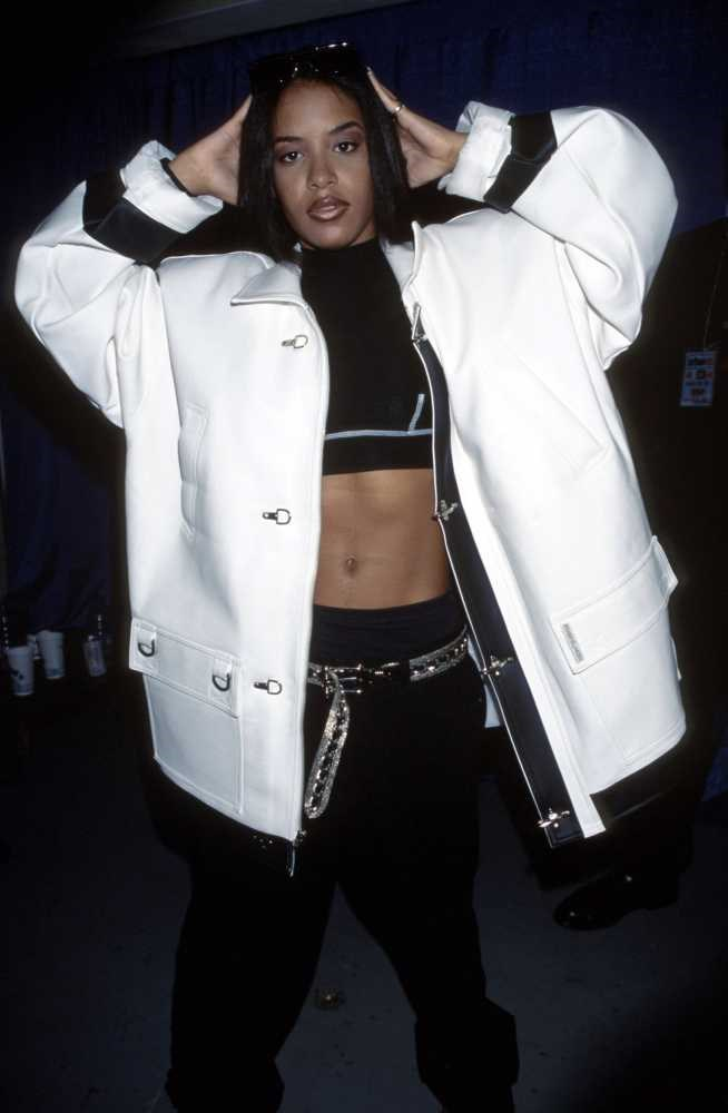 "<strong>Aaliyah</strong> <br> <br> ""She's the reason I have a penchant for crop tops, high-waisted trousers and kicks (trainers)."" <br> <br> Eva Pineda - Bookings Assistant"