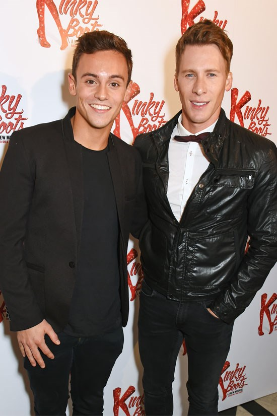 British Olympic Diver Tom Daley and Dustin Lance Black announced their engagement earlier this month.