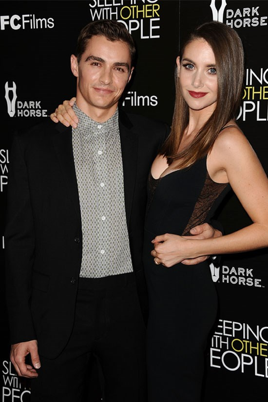 Dave Franco and Alison Brie got engaged in August.