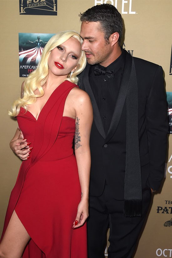 Lady Gaga announced her engagement to Taylor Kinney in February.