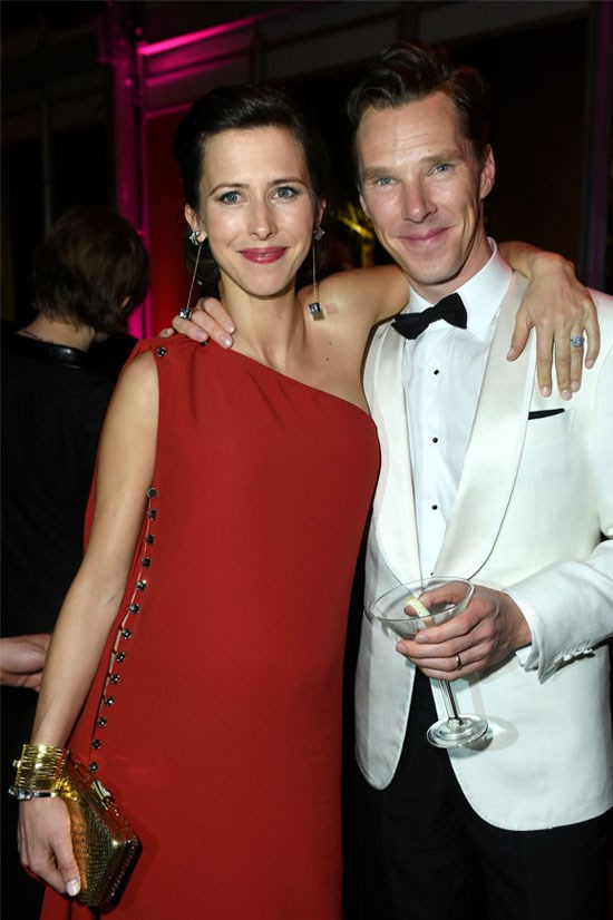 Benedict Cumberbatch wed Sophie Hunter in February (and now they have a cumberbaby).