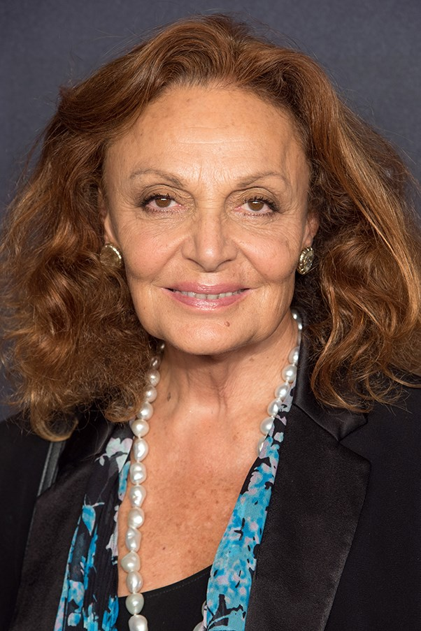 Diane von Furstenberg Supports Fashion Targets Breast Cancer Campaign