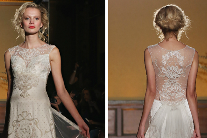 This 1 Wedding Dress Will Convince You That You Need A Butt Veil For Your Wedding Dresses