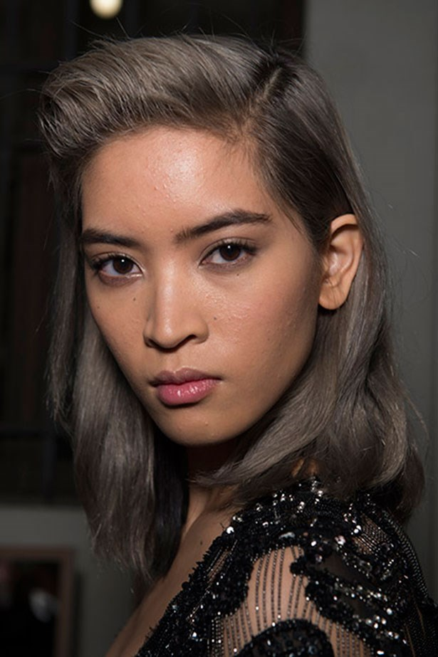 <strong>Best part-play: Roberto Cavalli</strong> <br> <br> 80's style quiffs gave a retro spin to the deep side parting that has ruled for the past few seasons.