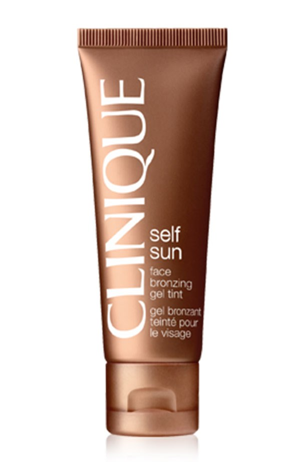 "<strong>Best for the face: </strong> <a href=""http://www.clinique.com.au/product/1660/6960/Sun/Self-Tanners/Face-Bronzing-Gel-Tint"">Clinique Face Bronzing Gel Tint</a>"