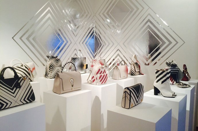 <em>Along with the best bags, Anya Hindmarch also provides an immersive experience. This time around, we received 3D glasses to view the collection.</em>