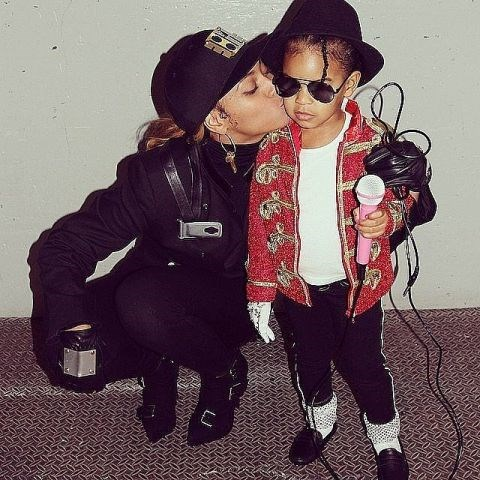 <strong>BEYONCÉ'S DAUGHTER, BLUE IVY</strong> <br> As Michael Jackson.