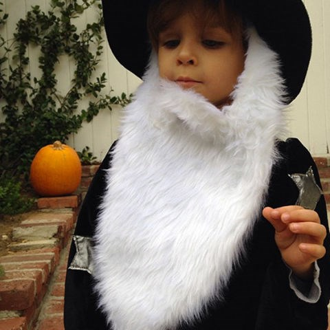 <strong>SELMA BLAIR'S SON, ARTHUR</strong> <br> As a wizard.