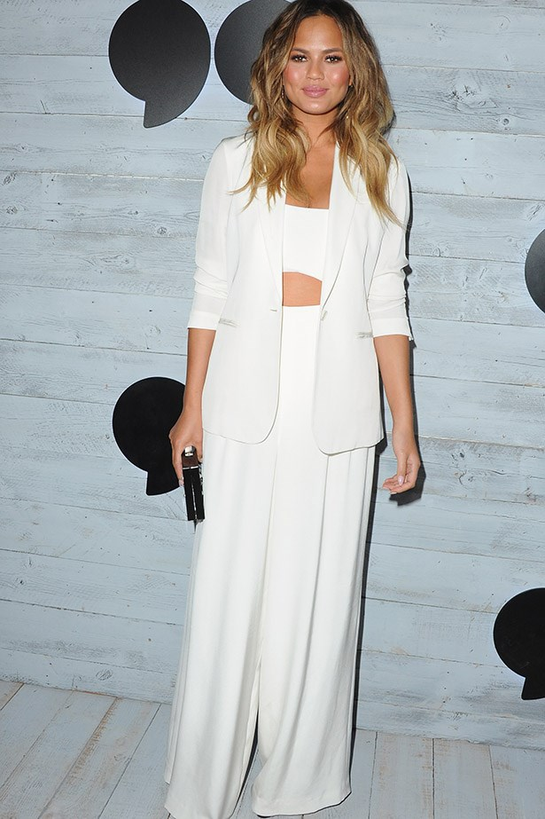 Yep, it's another all-white outfit and YEP it's amazing.