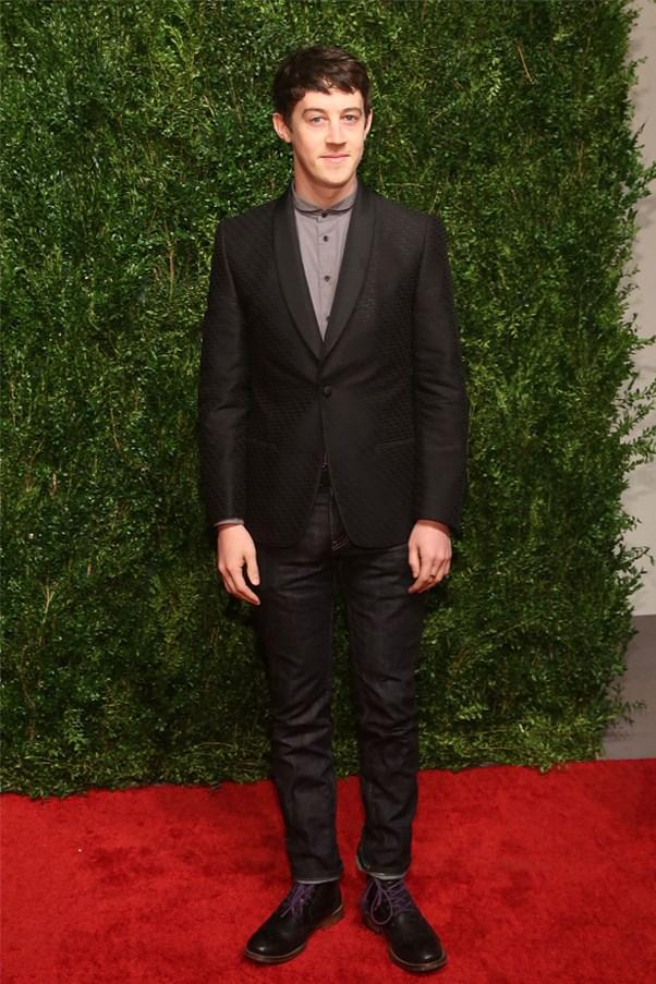English actor Alex Sharp