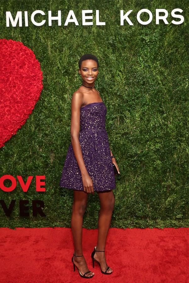 Angolan model Maria Borges
