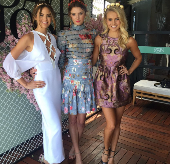 Jesinta Campbell, Montana Cox and Elyse Knowles all stun at the event.