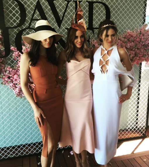 Jessica Gomes, Rebecca Judd and Jesinta Campbell all flaunt their looks.