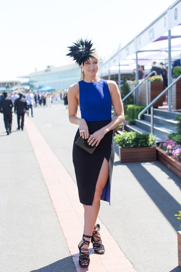 Name: Bree Laughlin<br><br> Outfit: Yeojin Bae dress, Jack and Jill millinery<br><br> Race day: Caulfield Cup 2015 <br><br> Location: Melbourne <br><br>