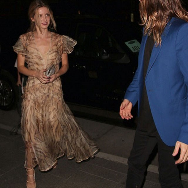 She wears Zimmermann! Pictured here with her ex-boyfriend Jared Leto. Yep.